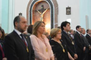 El alcalde de #Alcorcón preside la Misa Mayor en honor a Santo Domingo Santo Dominguín